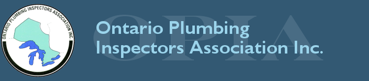 Ontario Plumbing Inspectors Association, Inc.